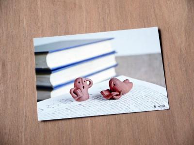 ハニワポストカード #3