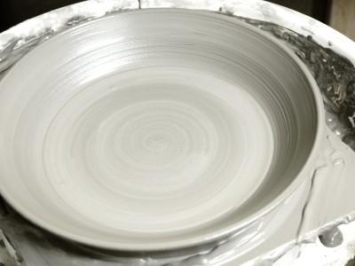 皿 水挽き