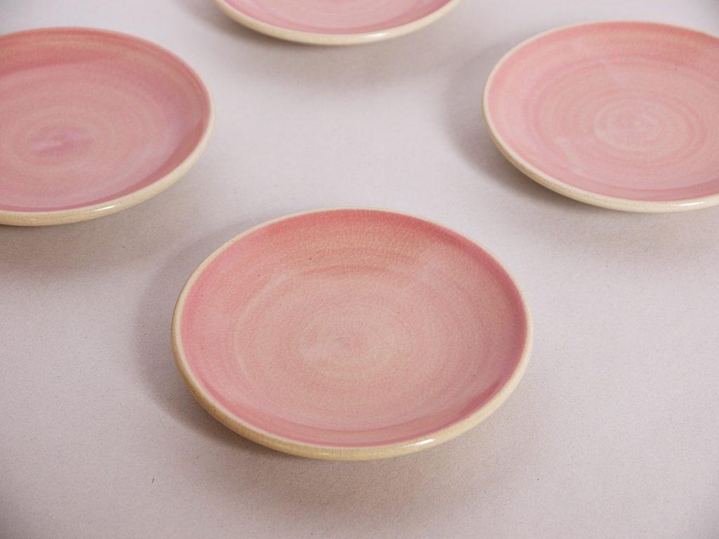 桃化粧小皿