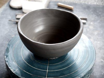 手びねり茶碗