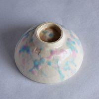 手びねり茶碗 Pink&Blue