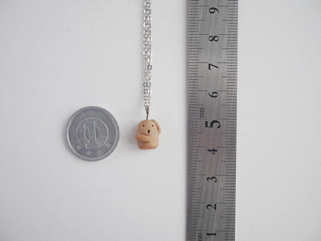 埴輪のネックレス
